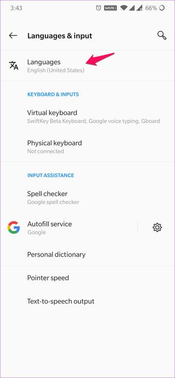 Cómo cambiar de idioma en WPS Office para Android e iOS 4