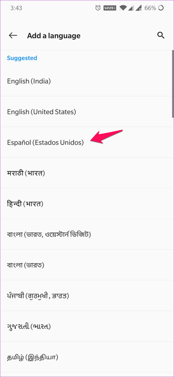 Cómo cambiar de idioma en WPS Office para Android e iOS 6