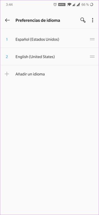 Cómo cambiar de idioma en WPS Office para Android e iOS 8
