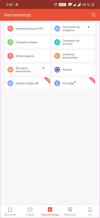 Cómo cambiar de idioma en WPS Office para Android e iOS 9