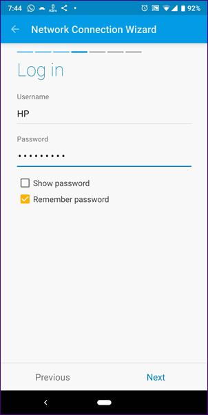 Cómo acceder a SMB Server en Solid Explorer 25