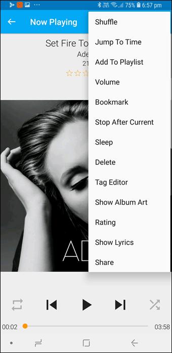 BlackPlayer vs GoneMAD: Comparación de dos grandes reproductores de música Android 22