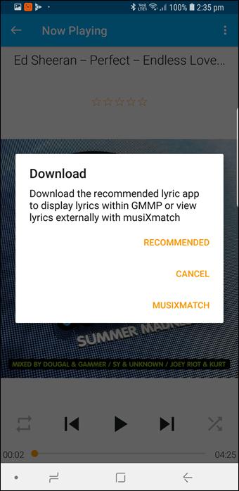 BlackPlayer vs GoneMAD: Comparación de dos grandes reproductores de música Android 20