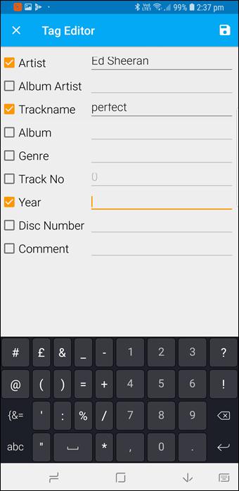 BlackPlayer vs GoneMAD: Comparación de dos grandes reproductores de música Android 19