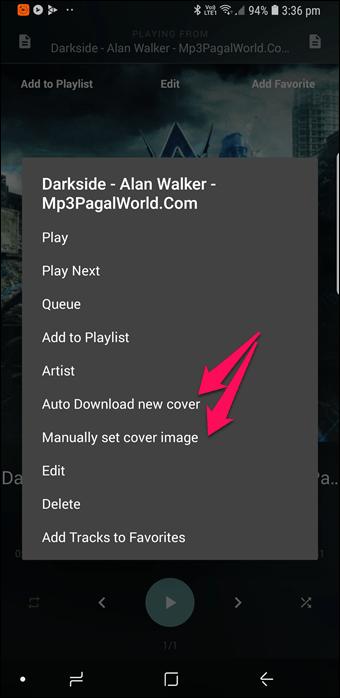 BlackPlayer vs GoneMAD: Comparación de dos grandes reproductores de música Android 23