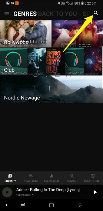 BlackPlayer vs GoneMAD: Comparación de dos grandes reproductores de música Android 3