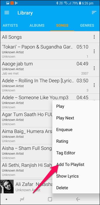 BlackPlayer vs GoneMAD: Comparación de dos grandes reproductores de música Android 15