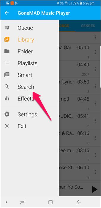 BlackPlayer vs GoneMAD: Comparación de dos grandes reproductores de música Android 8