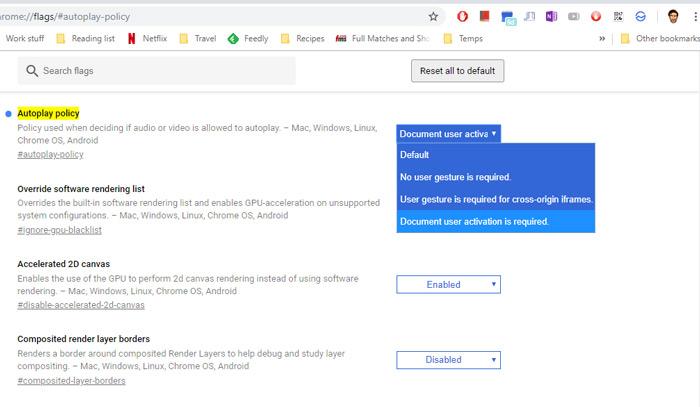 Cómo desactivar la reproducción automática de vídeos en Google Chrome y en Firefox 1