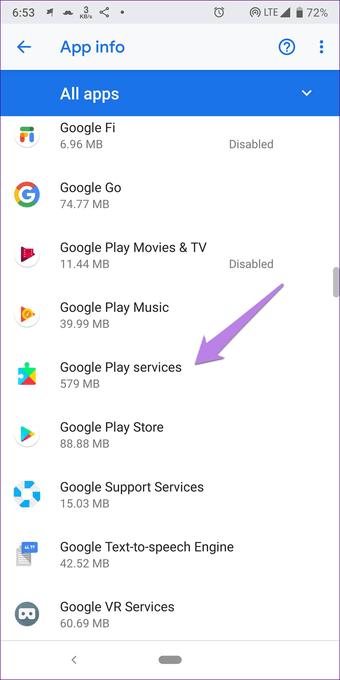 Cómo actualizar manualmente los servicios de Google Play 4