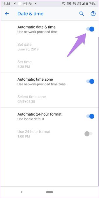 Cómo solucionar el problema de Google Play Store ha dejado de funcionar 4