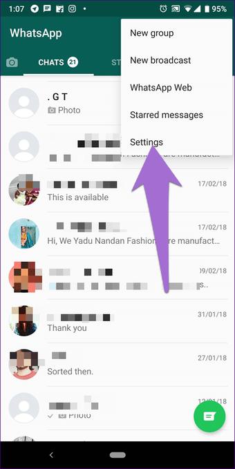 Cómo silenciar notificaciones de WhatsApp completas en Android e iOS 11