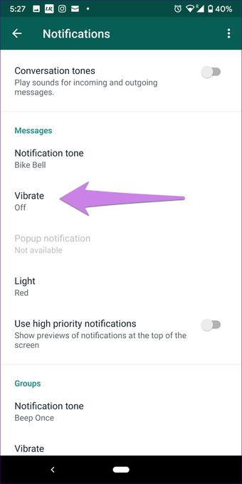Cómo silenciar notificaciones de WhatsApp completas en Android e iOS 15