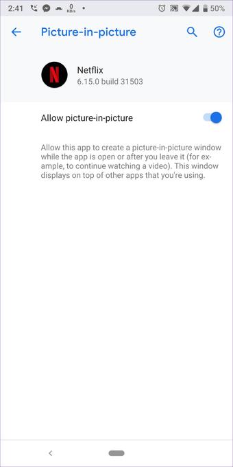Cómo fijar Netflix Picture-In-Picture Mode no funciona en Android 11