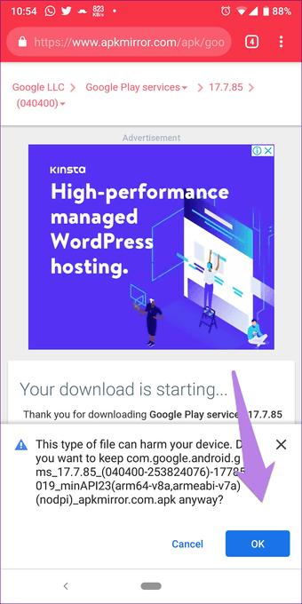 Cómo actualizar manualmente los servicios de Google Play 15