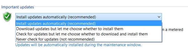 Deshabilitar las actualizaciones automáticas en Windows 10 1