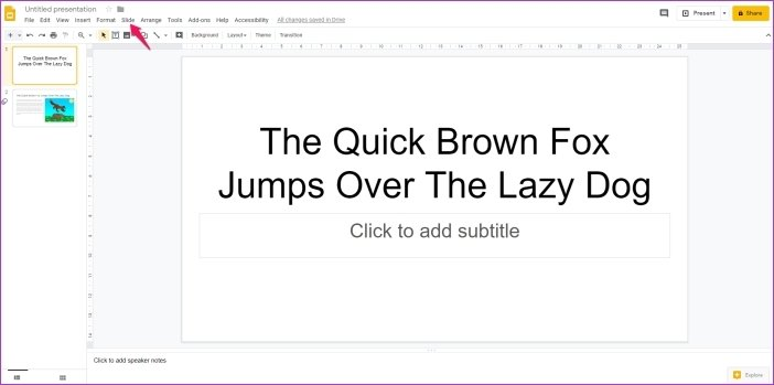 Cómo añadir animaciones en Google Slides 13