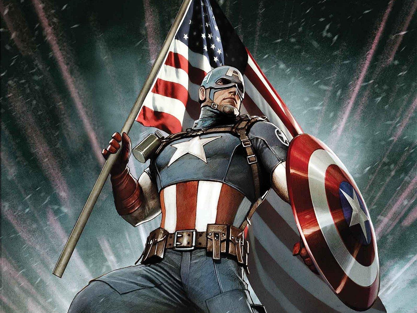 Los 10 mejores fondos de pantalla en HD del Capitán América que debes descargar 5