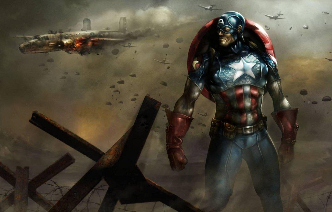Los 10 mejores fondos de pantalla en HD del Capitán América que debes descargar 3