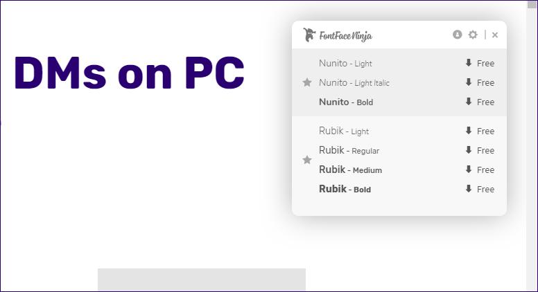 Top 5 Extensiones Chrome para Identificar Fuentes 3