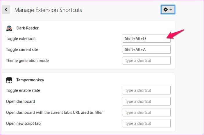 Cómo personalizar los atajos de teclado en Firefox 67 15