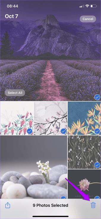 3 mejores maneras de eliminar fotos de iCloud 4