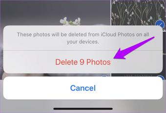 3 mejores maneras de eliminar fotos de iCloud 5