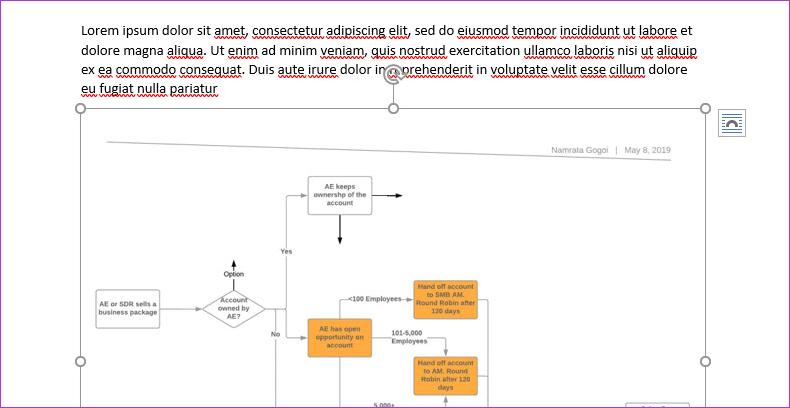 Cómo exportar diagramas de Lucidchart a Microsoft Word y Excel 5