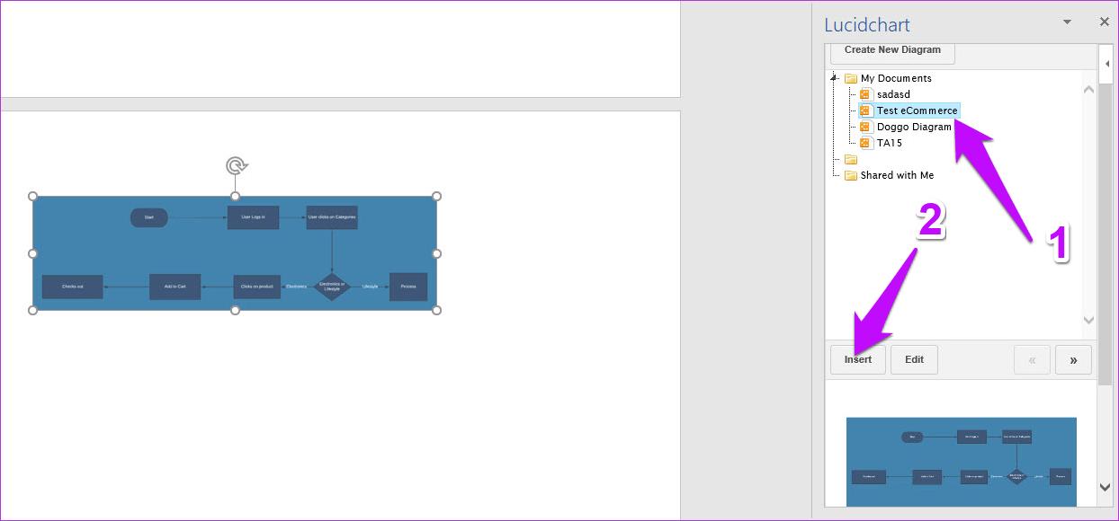 Cómo exportar diagramas de Lucidchart a Microsoft Word y Excel 8