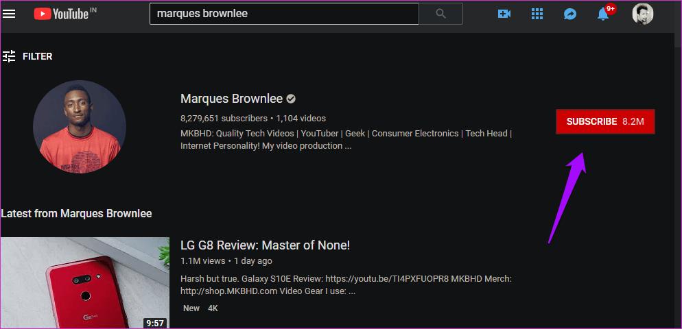 Cómo corregir una suscripción a YouTube que no funciona 3