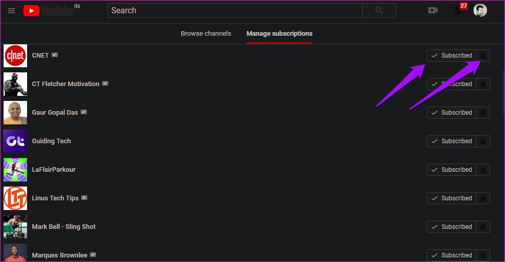 Cómo corregir una suscripción a YouTube que no funciona 7