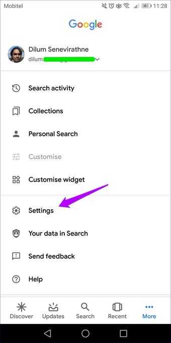 Cómo desactivar las búsquedas de Google App Trending en Android e iOS 3