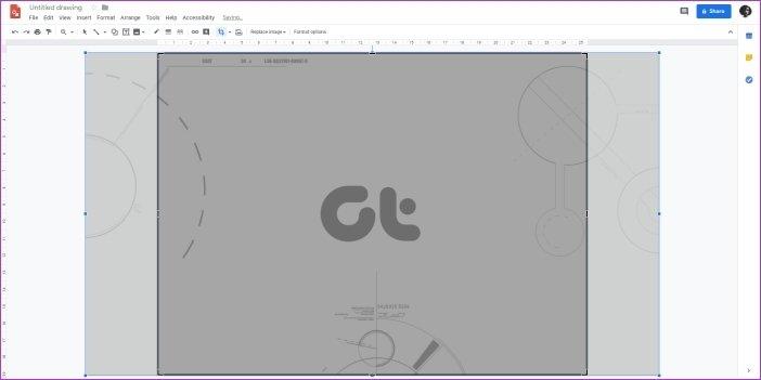 Cómo cambiar el fondo en Google Drawings 13