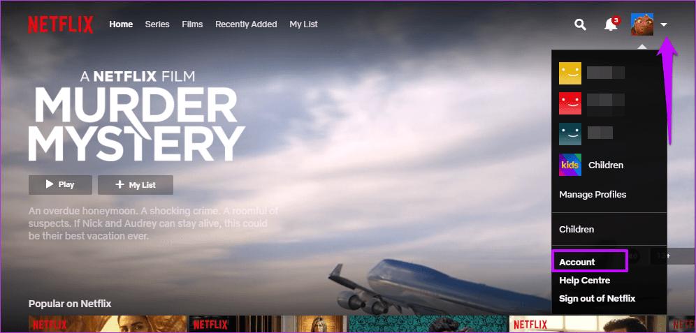 Cómo comprobar y eliminar los dispositivos conectados de la cuenta de Netflix 2