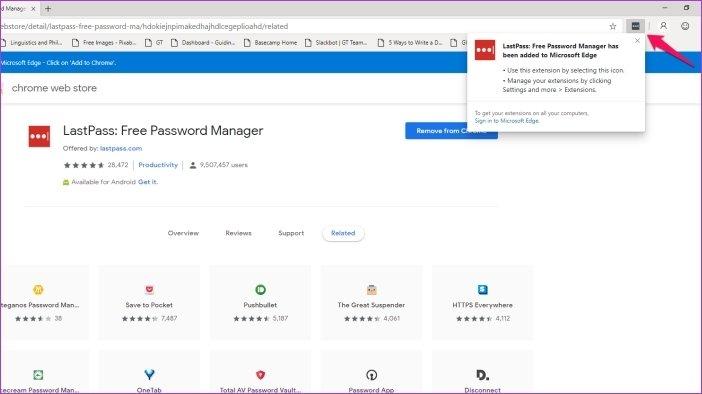 Cómo instalar las extensiones de Chrome en Microsoft Edge 10