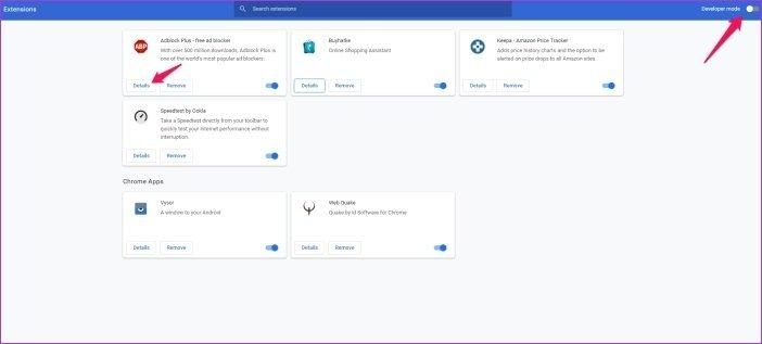 Cómo instalar las extensiones de Chrome en Microsoft Edge 16