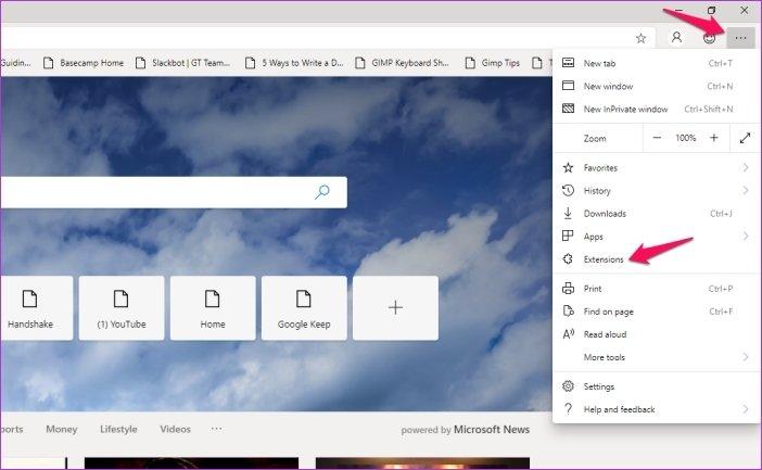 Cómo instalar las extensiones de Chrome en Microsoft Edge 5