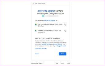 Cómo utilizar Google Drive como servidor FTP o unidad de red de forma gratuita 8