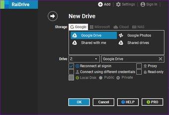 Cómo utilizar Google Drive como servidor FTP o unidad de red de forma gratuita 3