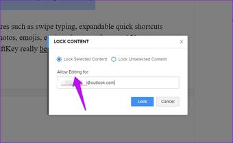Cómo bloquear Zoho Writer durante la colaboración y más trucos interesantes 6