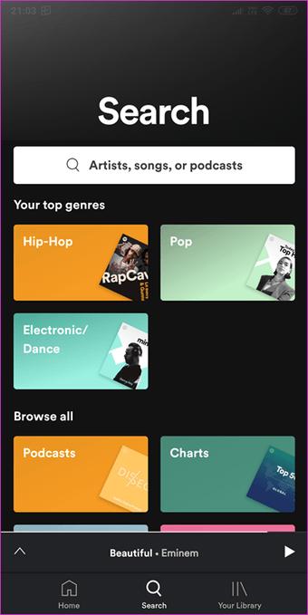 Música de YouTube vs. Música de Apple vs. Spotify: Cuál es el mejor servicio de transmisión de música por secuencias 4