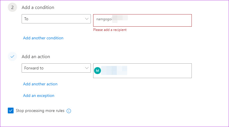 Cómo crear y administrar reglas en el correo web de Outlook 365 6