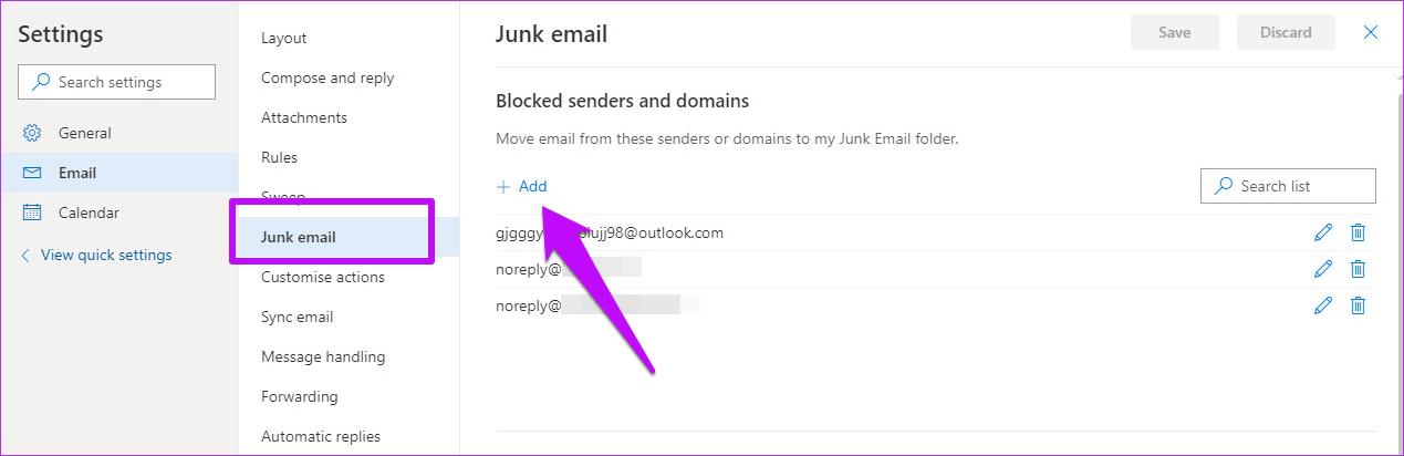 Cómo crear y administrar reglas en el correo web de Outlook 365 12