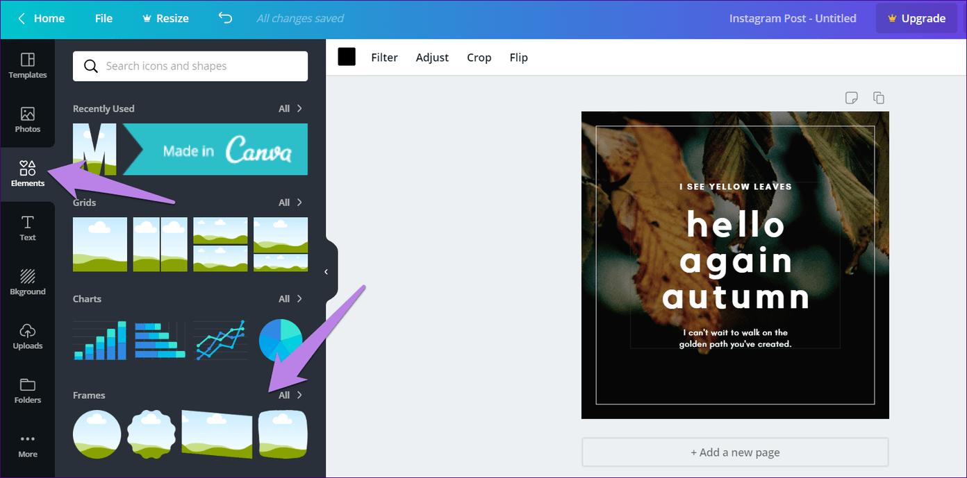 Cómo recortar imágenes en formas en Canva (aplicaciones de escritorio y móviles) 10