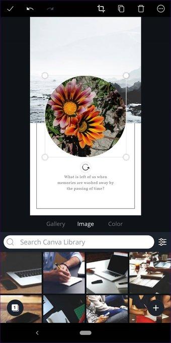 Cómo recortar imágenes en formas en Canva (aplicaciones de escritorio y móviles) 30