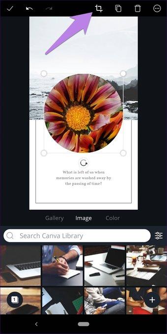 Cómo recortar imágenes en formas en Canva (aplicaciones de escritorio y móviles) 31