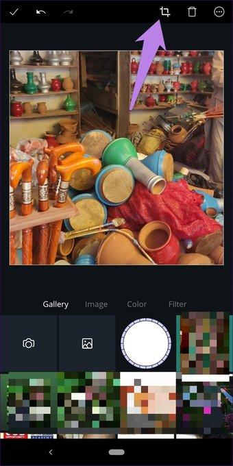 Cómo recortar imágenes en formas en Canva (aplicaciones de escritorio y móviles) 8