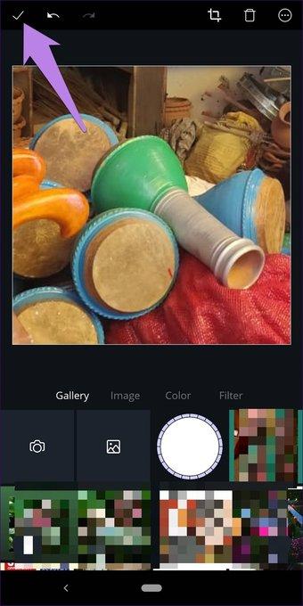 Cómo recortar imágenes en formas en Canva (aplicaciones de escritorio y móviles) 9