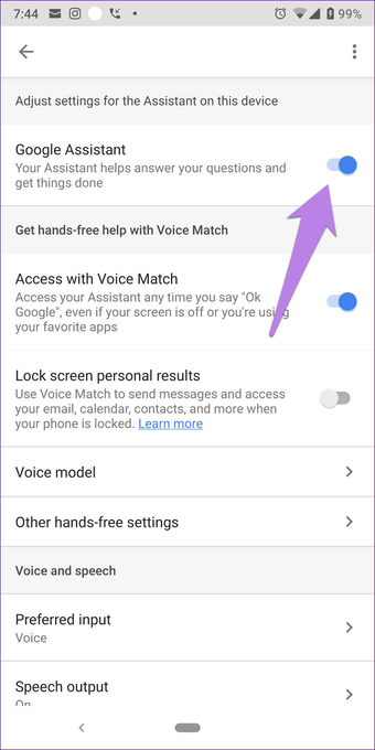 Cómo evitar que el Asistente de Google aparezca de forma aleatoria 6