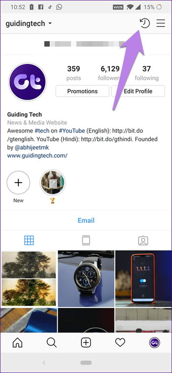 Borrar Instagram vs. Archivar: ¿Cuál es la diferencia? 8